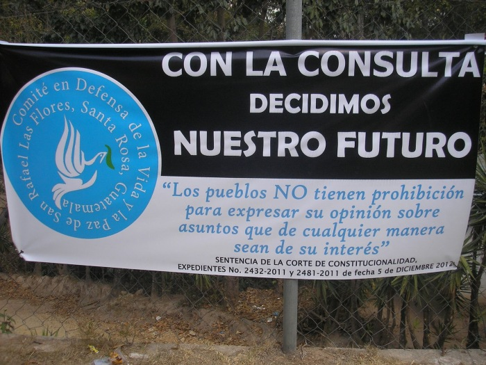 With the referendum, we decide our future - photo: NISGUA